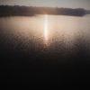 朱鞠内湖撮影/ボートの上からドローン体験と僕の無駄な動き。