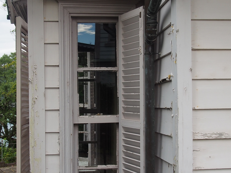 グラバー邸 外国っぽい窓
